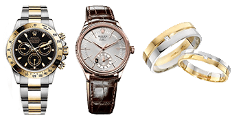 腕時計やジュエリーなどの貴金属